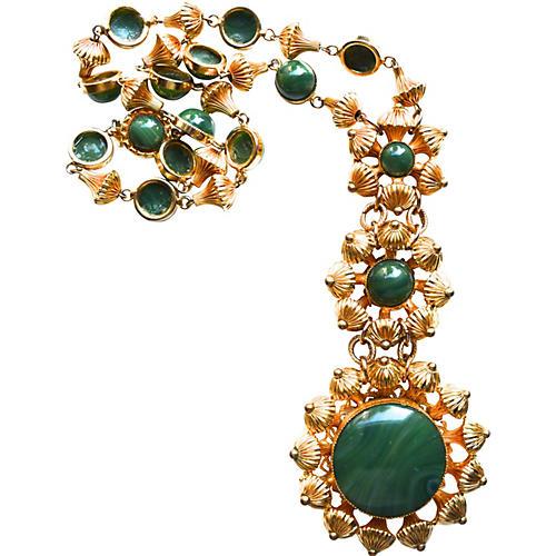 William de Lillo Etruscan Bead Necklace
