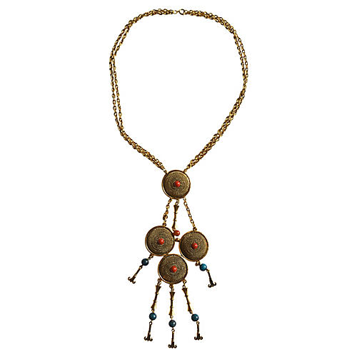 1970s Etruscan-Style Necklace