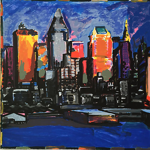 New York Nocturne by Tom Christopher
