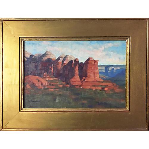 Southwestern Landscape by Cunningham