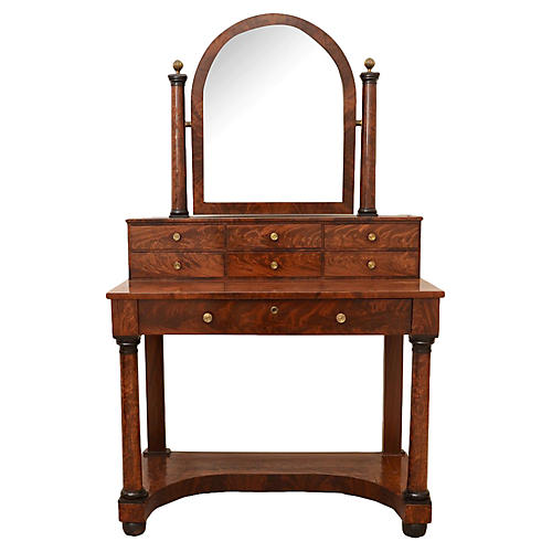 Empire Vanity Table, C.1820