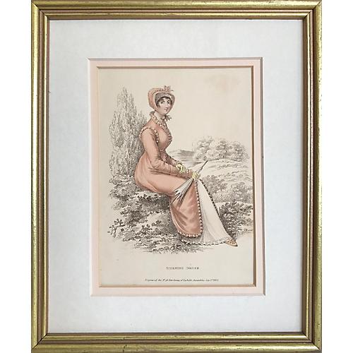 19th-C. Morning Dress Fashion Print