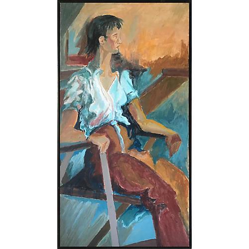 Midcentury Portrait