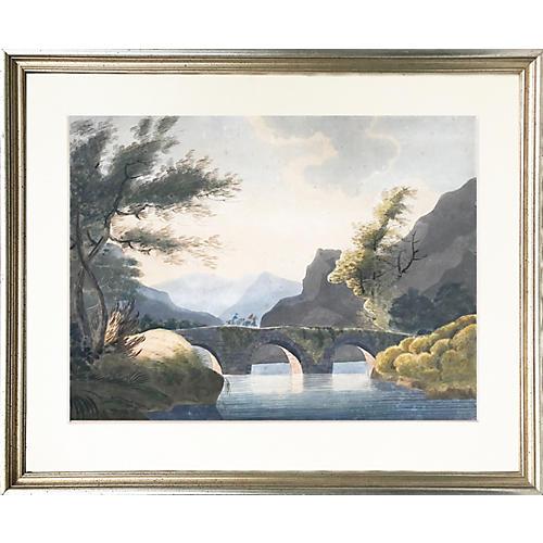 19th-C. Italian Landscape