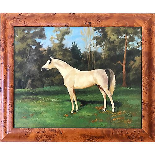 Impressionist Horse Portrait