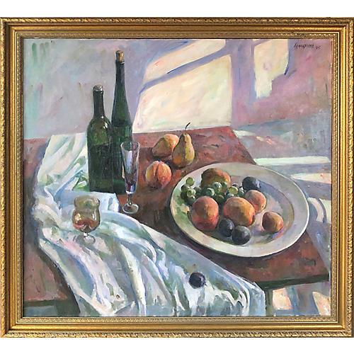 Russian Modernist Still Life Painting