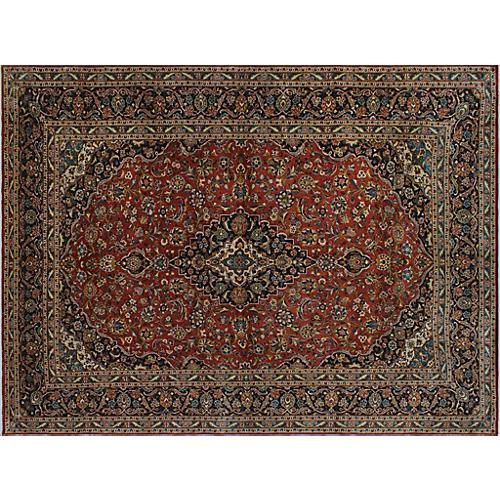 """Tabriz Carpet, 9'6"""" x 12'10"""""""