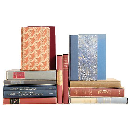 Blue & Burgundy Slipcase Classics, S/12