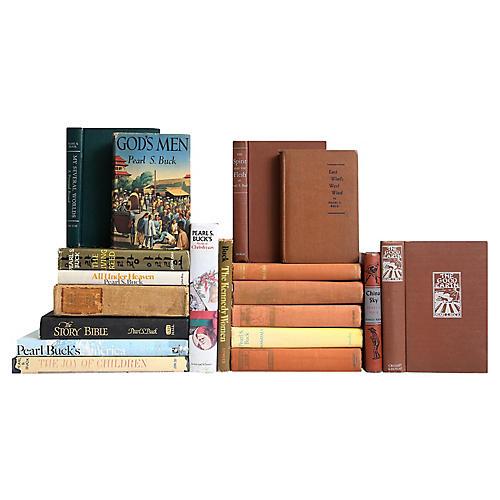 Pearl S. Buck Book Set, S/19