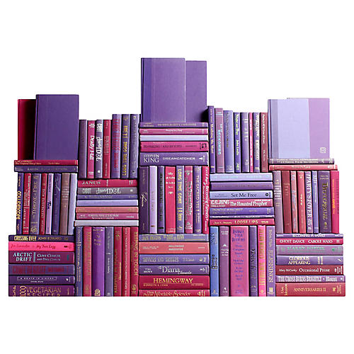 Berry Book Wall, S/100
