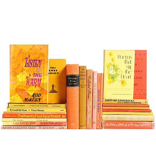 Orange & Yellow Sunrise Poetry, S/24