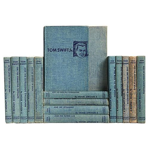 1950's Tom Swift Boys' Library, S/16