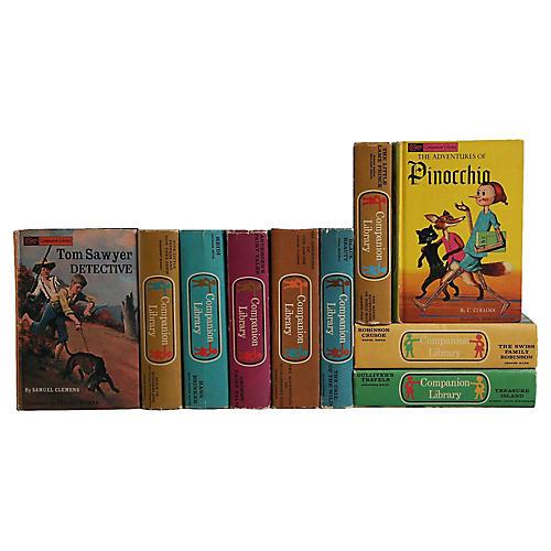 Vintage Children's Bookshelf, S/10