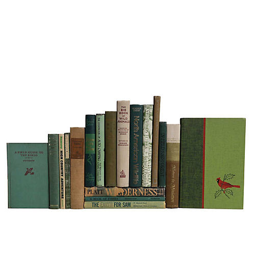 Nature Lover's Vintage Books, S/18