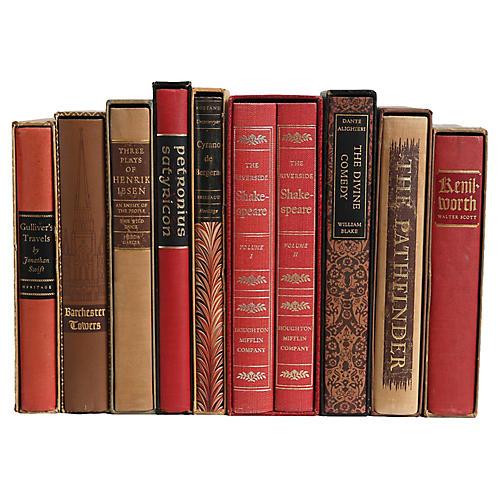 Slipcased Earthtone Classics, S/10