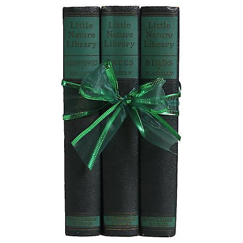 "Book Trio: ""Little Nature Library"""