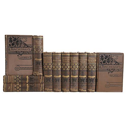 Ornate Antique Books: W. Thackeray, S/11