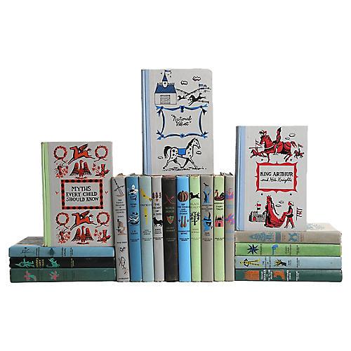 Classics Junior Deluxe Book Set, S/20