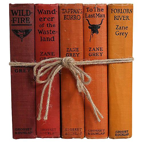 Zane Grey Western Book Set