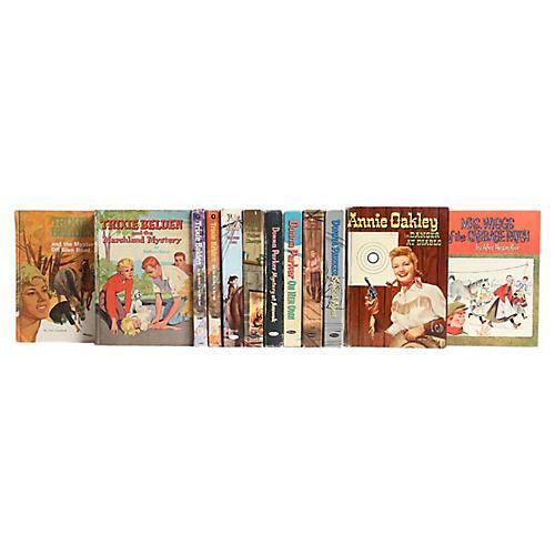 Vintage Whitman Stories for Girls, S/12