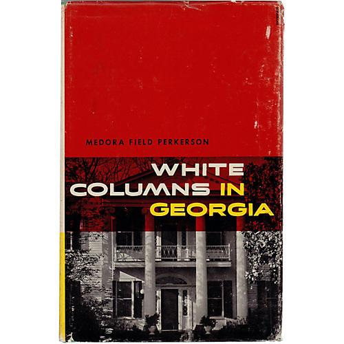 White Columns In Georgia, 1956