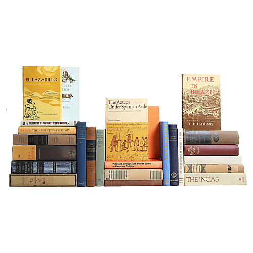 Latin America History Book Collection