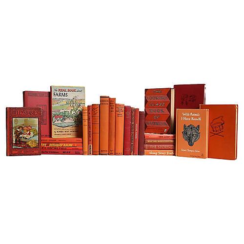 Children's Sunset Book Set, S/25