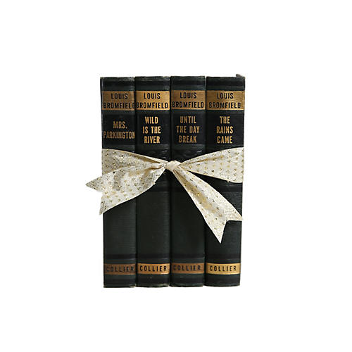 Vintage Book Gift Set: Green Art Deco
