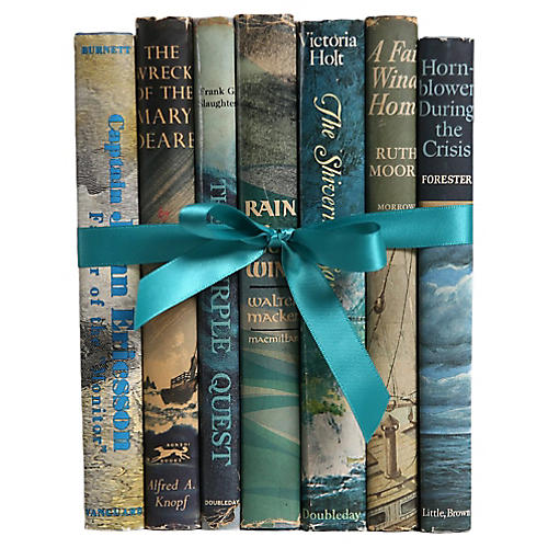 Book Gift Set: Nautical Novels, S/7
