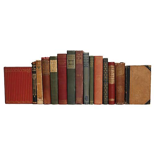 Antique Poetry Books, S/16