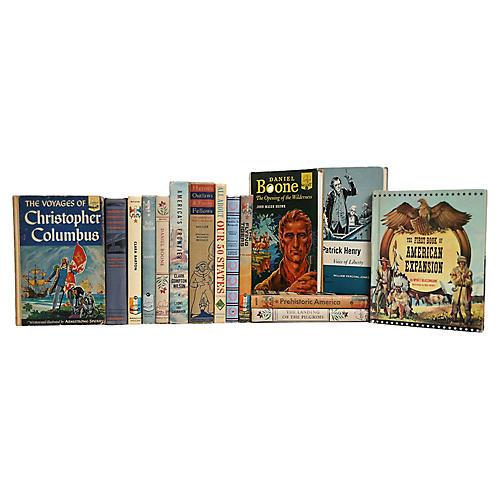 Children's American History Books, S/15