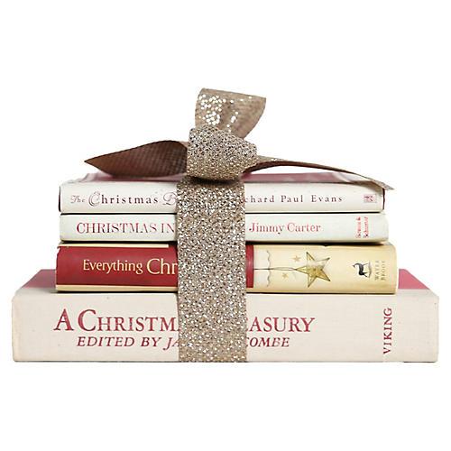 White Christmas Gift Set, S/4