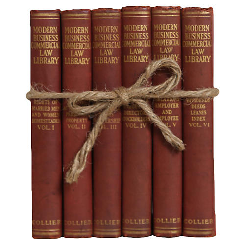 Modern Business Library Vintage Book Set