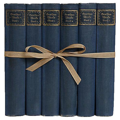 Goethe's Works In German Gift Set, S/6