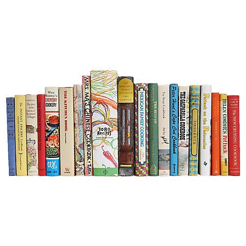 A Crayola Kitchen Cook Book Set, S/20