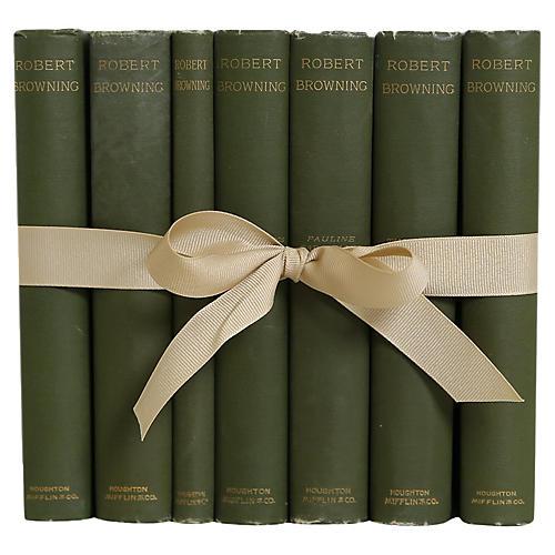Robert Browning Gift Set,(S/7)