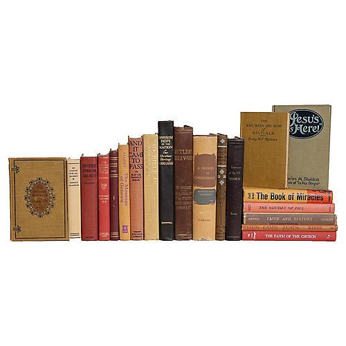 Cobblestones of Faith Book Set, (S/20)