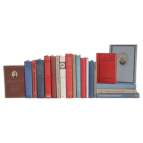 Olde New England Book Set, (S/20)