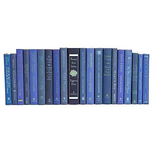 Modern Denim with Seafoam Accents Book