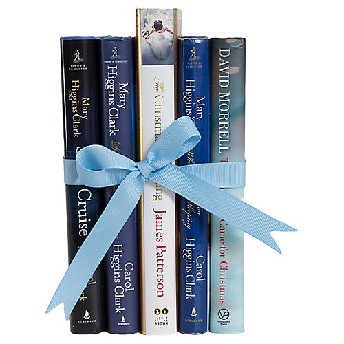 Blue Mystery Christmas Gift Set, (S/5)
