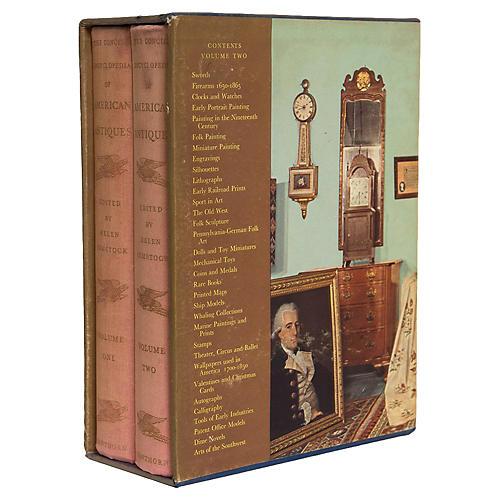 American Antiques Book Box Set, (S/2)