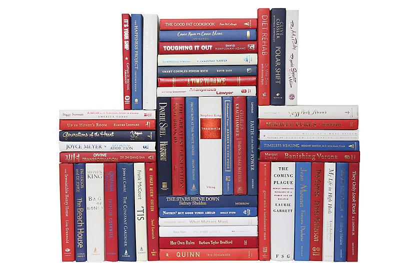 Modern Americana Book Wall, S/50