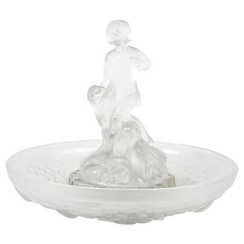 Daum France Crystal Figure, 3 Pcs
