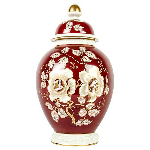 German Porcelain Urn