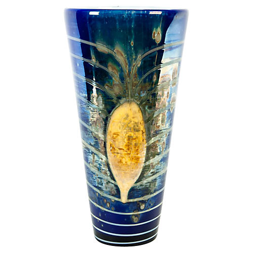 Mid-Century Modern Art Glass Vase