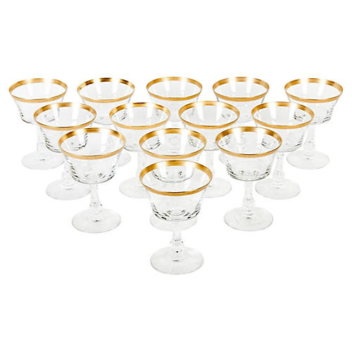 Crystal Champagne Coupe