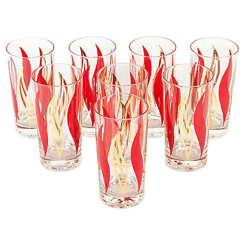 Highball Glasses, S/8