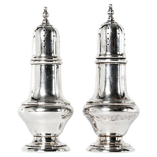 English Salt & Pepper Shakers