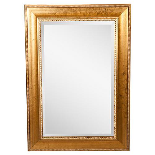 Midcentury Beveled Mirror