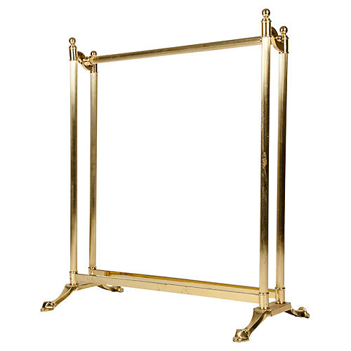 Solid Brass Coverlet/Towels Rack